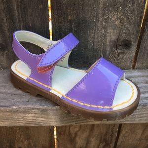 Dr Martens toddler girl sandals 10 Farlee